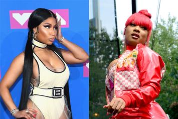 "Nicki Minaj Roasted For ""Struggle Twerking"" Next To Megan Thee Stallion"