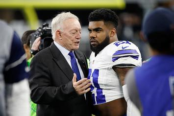 "Cowboys Launch Ezekiel Elliott T-Shirt Inspired By Jerry Jones' ""Zeke Who?"" Remark"