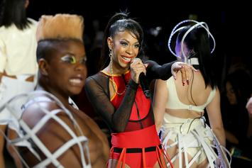 Rico Nasty Performs On The Runway Of Chromat's NYFW Show