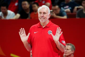 Gregg Popovich Roasts Reporter After Team USA's Upset Loss To France