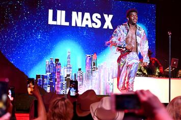 Lil Nas X Surprises His Old High School With Impromptu Gym Performance