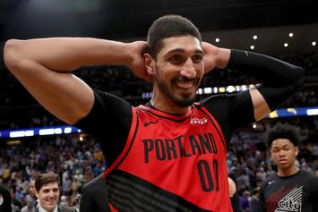 Enes Kanter Has Hilarious Reaction To Horrible NBA 2K Dunk Rating: Watch