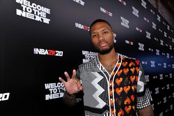 Damian Lillard Shows Off Boxing Skills Ahead Of Spence vs Porter Fight: Watch
