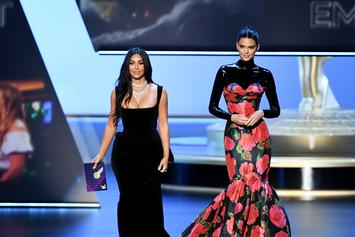 "Emmy Awards: Kim Kardashian Clowned For Calling Family ""Real People"""