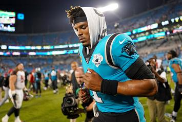 """Cam Newton Posts First Message About Lisfranc Injury: """"I'm Hurt, Not Dead"""""""