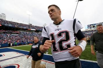 Tom Brady Celebrates Patriots Win Despite Lackluster Performance: Watch