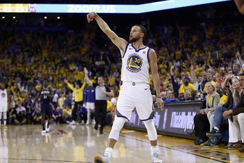 Steph Curry, D'Angelo Russell Catch Fire During 3-Point Shooting Session: Video