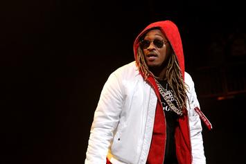 Future's Baby Mama, Joie, Gets Her Wrist Lit With Iced-Out Watch
