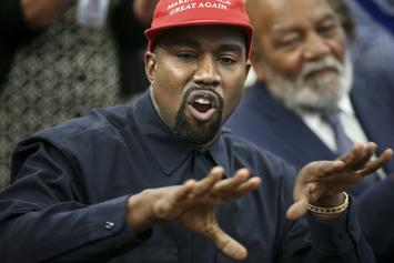 "Kanye West Reminds Sunday Service Attendees That Republicans ""Freed The Slaves"""