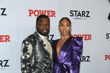 50 Cent's Girlfriend Shares Boo'd Up Moment With The Rapper