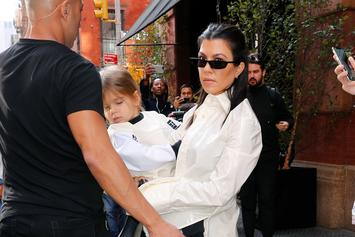Reign Disick Flipping Off The Paparazzi Goes Viral: Watch