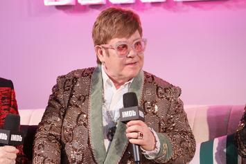Elton John Defends Ellen Degeneres Over George Bush Friendship
