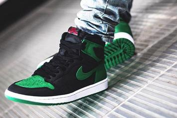 "Air Jordan 1 ""Pine Green"" Release Details, On-Foot Images Revealed"