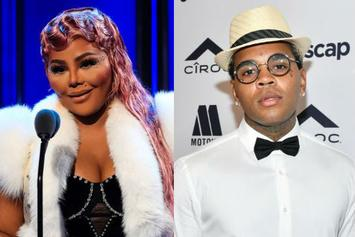 "Lil Kim Shows Love To Kevin Gates: ""His Words Of Wisdom Feeds My Soul"""