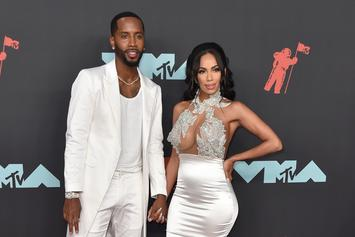 Safaree Whips Out His Jamaican Patois To Speak To His Daughter In The Womb