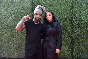 Ray J & Princess Love Use A Helicopter To Reveal Gender Of Baby