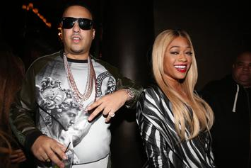 "Trina's Still ""Not Cool"" With Ex French Montana"