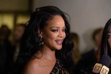 Rihanna Celebrates Release Of Her New Book With Sultry Photo