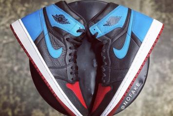"""Air Jordan 1 """"UNC To Chicago"""" Rumored For Valentine's Day: Release Info"""