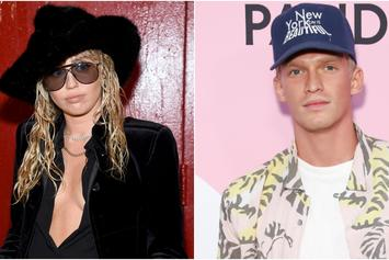 Miley Cyrus & Cody Simpson Pack On The PDA Before Halloween Haunt