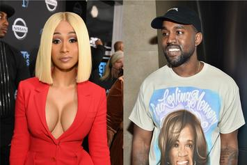 """Cardi B Is On Kanye West's Side, Defends Him From """"Falling Off"""" Comments"""