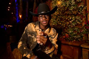 Lil Nas X Amazingly Recreates Cam'ron's Iconic Pink Fur Outfit For Halloween