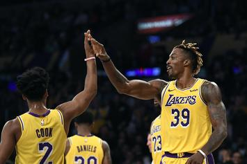 Dwight Howard Has Lakers Fans Singing His Praises After Hot Start