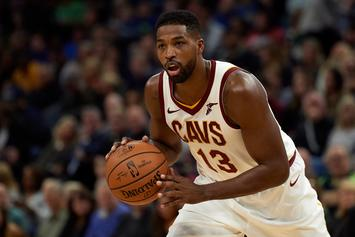 Tristan Thompson Pens Heartfelt Message To Khloe Kardashian After Award Show Win
