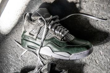 The Shoe Surgeon Teams With Jack Daniel's For Exclusive Air Jordan 4 Collab