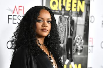 "Rihanna Stuns At ""Queen & Slim"" Premiere After Promise To ""Balance"" Work & Play"