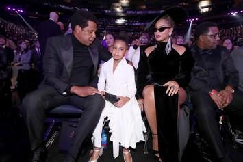 "Blue Ivy Wins Soul Train Award With Beyoncé, SAINt JHN, & WizKid For ""Brown Skin Girl"""