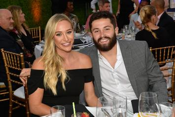 Baker Mayfield's Wife Blasts Browns Reporter For T-Shirt Question