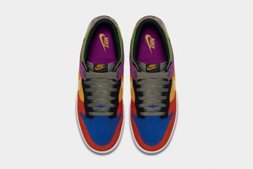 """Nike Announces Exclusive """"Viotech"""" Dunk Low Will Re-Release Next Week"""