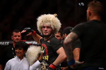 Khabib Nurmagomedov Displays LeBron-Esque Basketball Skills: Watch