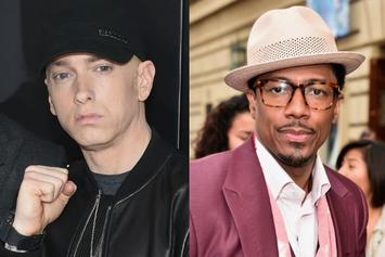 Nick Cannon & Eminem Continue To Call One Another Out On Social Media