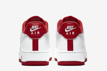 "Nike Air Force 1 Low ""University Red"" Coming Soon: Official Photos"