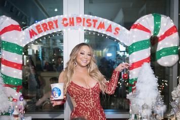 """Mariah Carey's """"All I Want For Christmas Is You"""" Tops Hot 100 25 Years Later"""