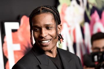A$AP Rocky Disgusted After Fan Throws Boxer Briefs On Stage At Rolling Loud