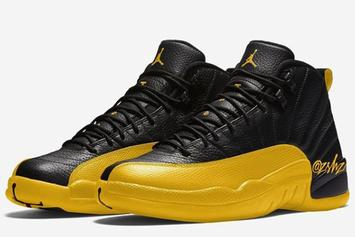 "Air Jordan 12 ""University Gold"" Release Date Revealed: Details"