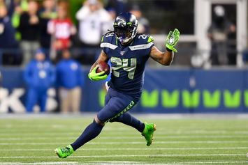 Marshawn Lynch Reacts To His First Game Back With The Seahawks