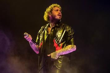 Post Malone Rings In The New Year With A New Face Tattoo