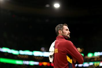"""Report: Kevin Love Had """"Verbal Outburst"""" Directed At Front Office"""