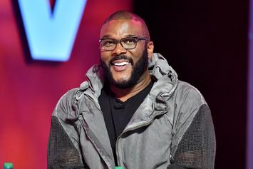 "Tyler Perry Flexes ""Work Ethic"" & Reveals He Writes All Of His Shows By Himself"