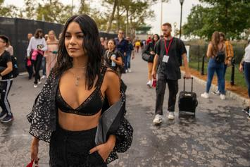 """Vanessa Hudgens Shares """"Dope"""" Photo From """"Bad Boys For Life"""" Set With Will Smith"""