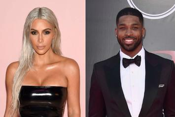 "Kim Kardashian Denies Booing Tristan Thompson: ""I Was There To Support Him!"""