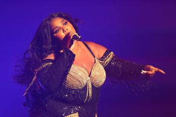 Lizzo Posts Gold Bikini Thirst Trap In Celebration Of Award Nominations