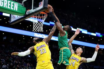 Jaylen Brown Posterizes LeBron James: NBA Twitter Reacts