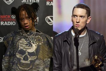 "Trippie Redd Reacts To Being Name-dropped On Eminem's ""Music To Be Murdered By"""
