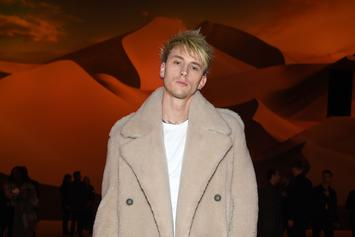 Machine Gun Kelly Tattoos Album Title On His Neck & Channels Bobby Shmurda