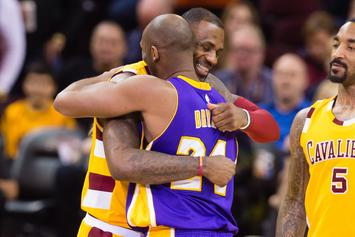 LeBron James Shares Photo Of Kobe Bryant Tattoo Before Lakers Game